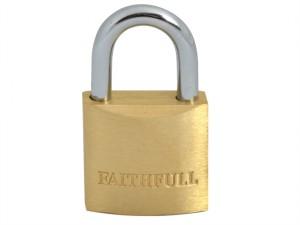 Brass Padlock 25mm 3 Keys