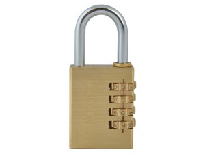 Brass Combination Padlock 38mm