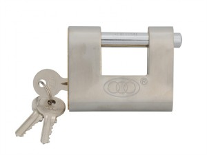 Brass Shutter Padlock 80mm