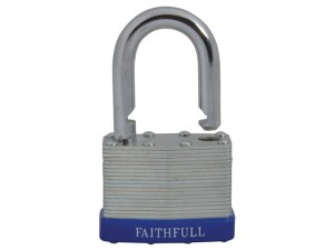 Laminated Steel Padlock 50mm 3 Keys
