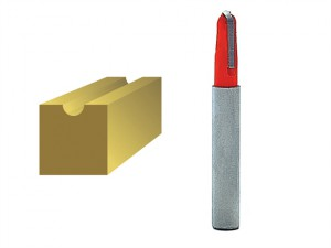 Router Bit TCT Radius 3.0 x 15mm 1/4in Shank