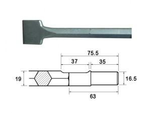 Scaling Chisel 300x50mm Ryobi / Bosch