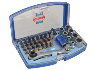Screwdriver Bit & Socket Set 42 Piece