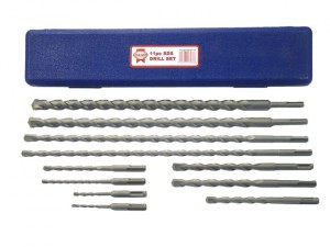 SDS Plus Drill Bit Set 11 Piece 5-20mm