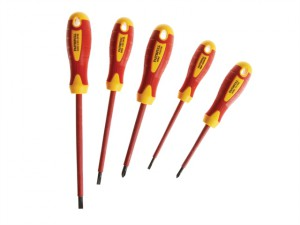 VDE Soft Grip Screwdriver Set of 5 SL/PH