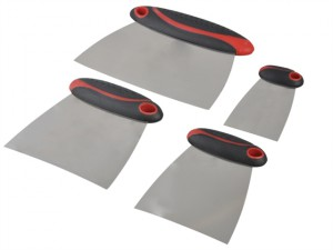Filler & Spreader Set of 4 Stainless Steel