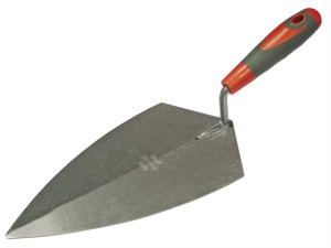 Philadelphia Pattern Brick Trowel Soft Grip Handle 11in