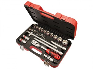 Socket Set of 24 Metric 1/2in Square Drive