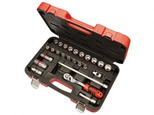 Socket Set of 25 Metric 3/8in Square Drive