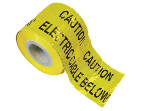 Warning Tape 365m - Electric