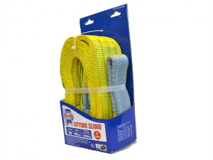 Lifting Sling Yellow 3 Tonne 90mm x 3m