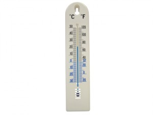 Thermometer Wall Plastic 200mm