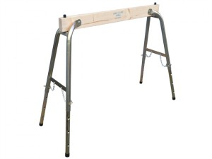Steel / Wood Heavy-Duty Adjustable Trestle (Single)