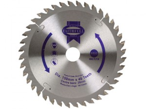 Circular Saw Blade 150 x 20mm x 40T General-Purpose