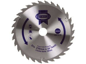 Circular Saw Blade TCT 230 x 30mm x 30T General-Purpose