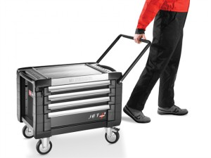 JET.CR4GM3 Mobile Chest Jet M3 4 Drawer Black