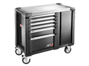 Jet.T6GM3 Mobile Work Bench 6 Drawer Black