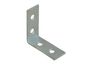 Corner Braces Zinc Plated 40mm Pack of 10