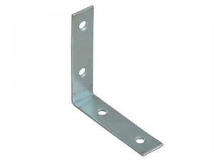 Corner Braces Zinc Plated 65mm Pack of 10