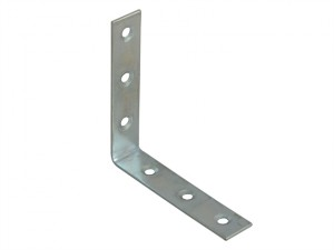 Corner Braces Zinc Plated 75mm Pack of 10