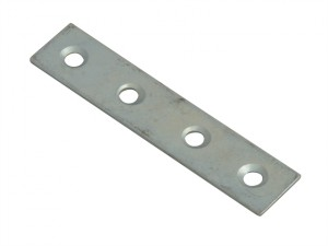 Mending Plates Zinc Plated 75mm Pack of 10