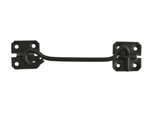 Cabin Hook - Black Powder Coated 152mm (6in)