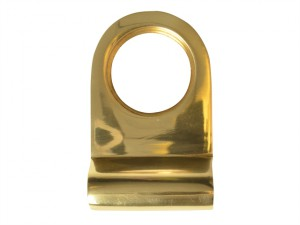 Cylinder Pull - Brass Finish