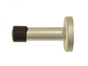 Projecting Door Stop Aluminium 68mm
