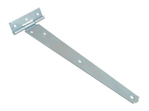 Tee Hinge Zinc Plated 300mm (12in) Pack of 2