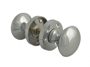 Mortice Knob Set - Chrome Finish 53mm (2in)