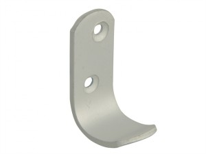 Coat Hook - Aluminium 47mm Pack of 2