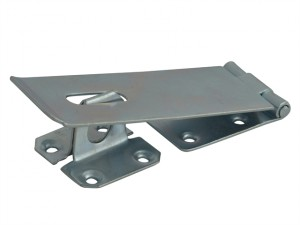 Hasp & Staple - Security Zinc Plated 114mm