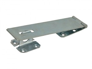 Hasp & Staple - Security Zinc Plated 150mm