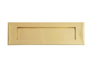 Letter Plate - Victorian Brass 254mm