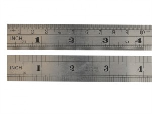 F39ME Steel Rule 1 Metre / 39in