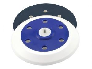Dual Action Sander Pad 150mm Self Stick 6 Holes 5/16 UNF 16mm Foam Layer
