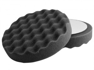 Black Waffle Super Soft Finishing Pad 150mm