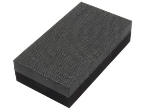 Hand Sanding Block Double Sided Medium/Hard 70 x 125mm