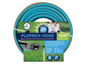 Flopro + Hose 15m 12.5mm (1/2in) Diameter