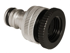 Flopro Elite Dual Fit Outside Tap Connector 12.5 - 19mm (1/2 - 3/4in)