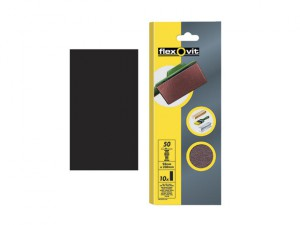 1/3 Sanding Sheets Plain Coarse Grit (Pack of 10)