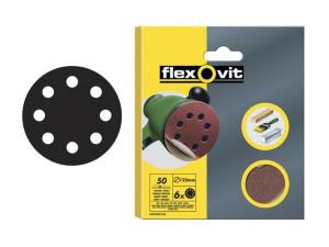 Hook & Loop Sanding Discs 115mm Medium 80g (Pack of 6)