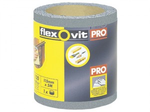 High Performance Finishing Sanding Roll 115mm x 5m 120G