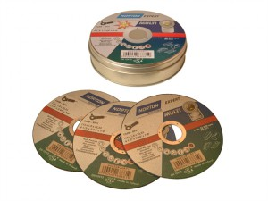 Multi-Purpose Cutting Discs 115 x 22mm (Pack of 10)