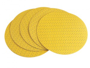 Hook & Loop Sanding Paper Perforated 40 Grit Pack 25