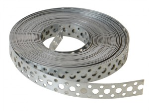 Builder's Galvanised Fixing Band 20mm x 1.0 x 10m Box 1