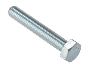 High Tensile Set Screw ZP M10 x 100mm Bag 10