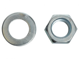 Hexagon Nut & Washer ZP M20 Blister 2