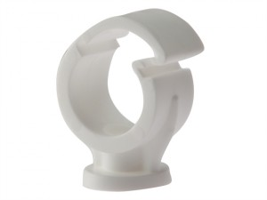 Pipe Clip Single Cliplock 15mm Box 100