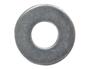 Flat Penny Washer ZP M10 x 25mm Bag 10